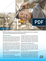 EBMUD 2016 Water Quality Report