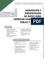 Estadistica Analisis de datos capitulo 2