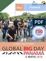 Global Big Day Panamá, 5 de mayo de 2018