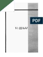 Book of Hajj From Summarized Fiqh of Shaykh Fawzan