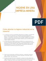 Higiene en Una Empresa Minera