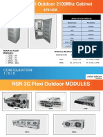 NSN 3G Flexi Outdoor 2100Mhz Cabinet