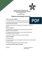 Evaluación de Desempeño Sobre Redes NDLR 11-4