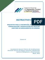Ie d.1.1 Mg 01 Requisitos Registro Sanitario Medicamentos Gnral