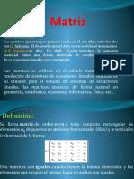 Matriz y Determinante ppt