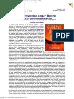 2003 - Eduardo García Morán Las Izquierdas Según Bueno La Nueva España 27 Marzo 200
