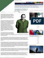 2008 - Gustavo Bueno en La Universidad de Oviedo (I) - La Nueva España - Diario Indepe