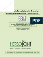 The Best Herbal Joint Pain Relief Cream | Herbojoint
