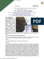2004 - Gustavo Bueno - Kant Era Un Cura Laico La Nueva España 12 Febrero 2004