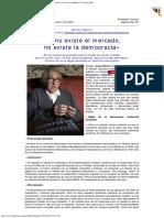 2004 - Gustavo Bueno - Si No Existe El Mercado, No Existe La Democracia La Nueva España
