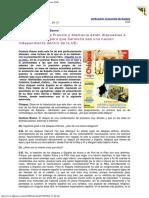 2006 - A. Lozano Entrevista a Gustavo Bueno. «Es Probable Que Francia y Alemania Estén Dispuestas a Chispas Enero 2006