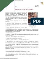 2001 - Gustavo Bueno - «Observar La Basura Es Mirar La Realidad» Interviú 12 Marzo 20