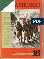 1984- Ensayo de Una Teoría Antropológica de Las Ceremonias. El Basilisco, Número 16, Septiembre de 1984