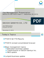 2015 Nov DaiichiSankyo Presentation Material