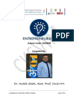 Entrepreneurship - Advanced Reading