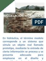 MODELACION HIDRAULICA