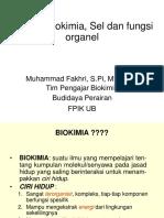 2. Definisi Biokimia Dan Sel