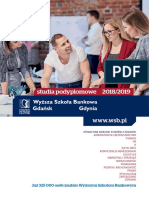 Informator 2018 - Wyższa Szkoła Bankowa w Gdańsku_SP