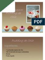 Pudding de chía