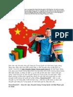Địa Chỉ Vận Chuyển Hàng Trung Quốc Về Việt Nam Giá Rẻ Nhất