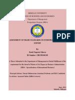 Assessment+Of+Trade+Standards+On+Ethiopia s+Fresh+Fruit+Export+Volume
