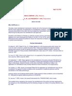 m Del Castillo Insurance Cases