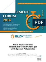 Metal Replacement Forum 2014