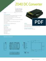Series 12040 DC Converter