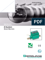 Z System - Zener Barrier Manual