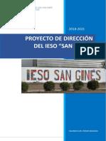 Proyecto de Dirección Del IESO San Ginés