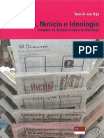Van Djick - Análise Crítica Do Discurso