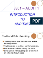 H - Intro to Auditing