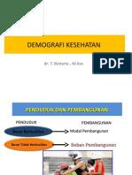 DEMOGRAFI KESEHATAN