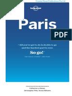 Paris 9 Contents