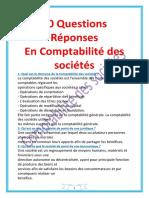 30 Questions Réponses en Comptabilité Des Sociétés