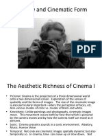 cinema as a form of art