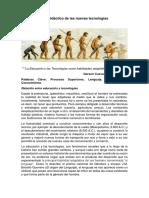 Ensayo Sobre El Uso Didáctico de Las Nuevas Tecnologías - Gerson Cuevas