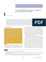 Adrian Wardzynski, 'the 2014 Update to the OECD Commentary- A Targeted Hybrid Approach to Beneficial Ownership' (2015) 43 Intertax, Issue 2, Pp. 179–191