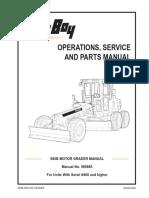 LeeBoy 685B Grader Manual 09 081