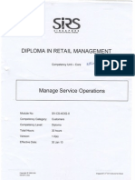 Module 2 Manage Service Operations