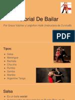 tutorial de bailar