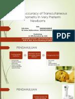 Diagnosis Accuracy of Transcutaneous (1)