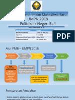 Panduan Pmb Umpn 2018