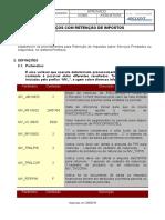 001 - Serviços Com Retenção Impostos