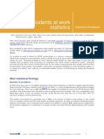 Accidents at Work Statistics - Statistics Explained