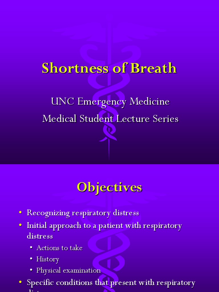 Shortness of Breath.ppt | Heart Failure | Asthma