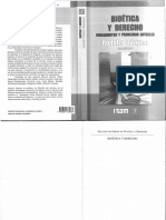 Bioetica y Derecho Fundamentos y Problemas Actuales (1)