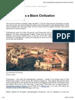 Carthage Was a Black Civilization