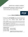 Texte Villa Camelia