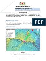 MH370 Operational Search Update #18 Period